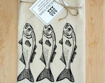 Fish Flour Sack Towel