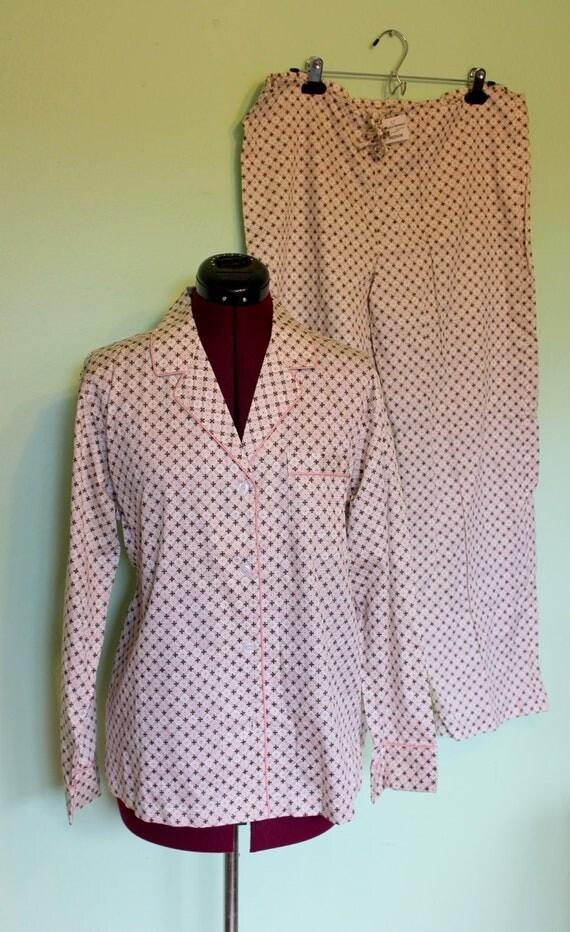 60s NOS pajamas 2pc set