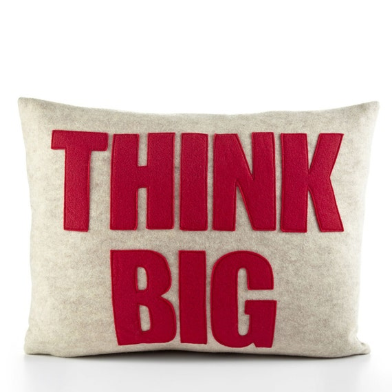 Big Soft Throw Pillows : Decorative Pillow Throw Pillow Think Big pillow