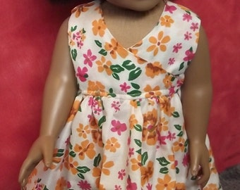 18inch Doll Flower Dress