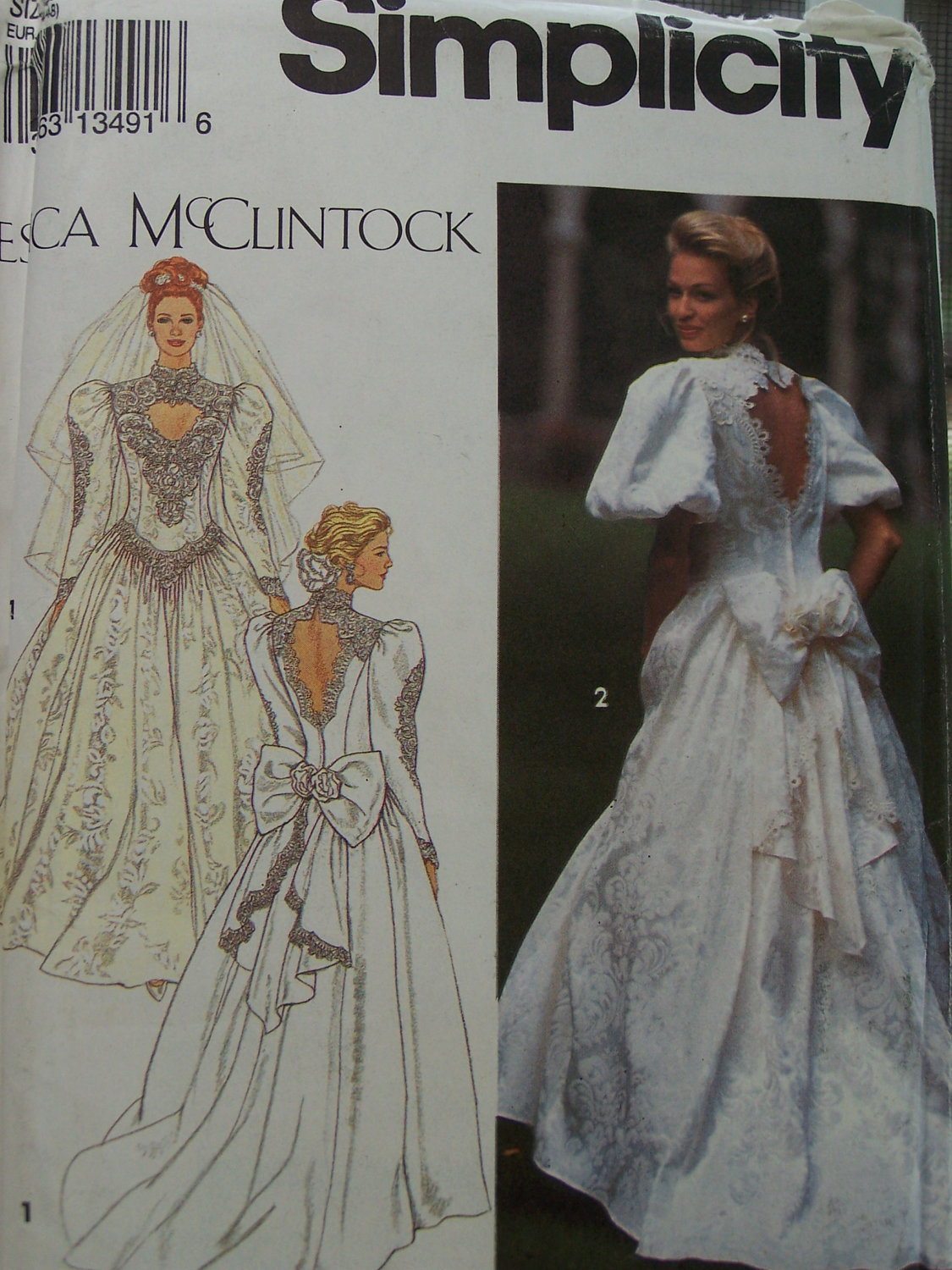 Vintage Simplicity 8176 Sewing Pattern Misses by