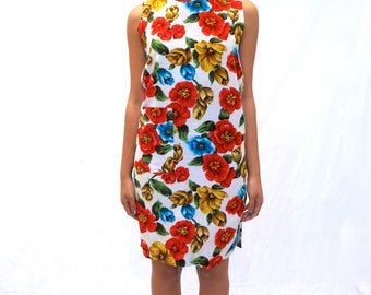 The Floral Shift Dress