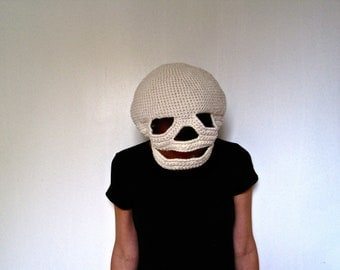 Crocheted Skull Mask