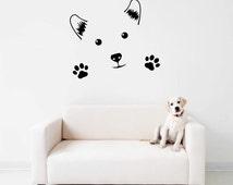 Cute Dog Wall Decal