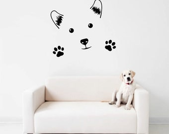 Charmant Cute Dog Wall Decal