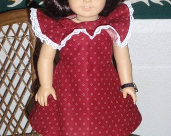 1930s Summer Fairy Dress for Kit or Ruthie or other 18 inch doll