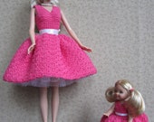 PATTERN - Fashion Doll 50's Style Mother & Daughter Dress