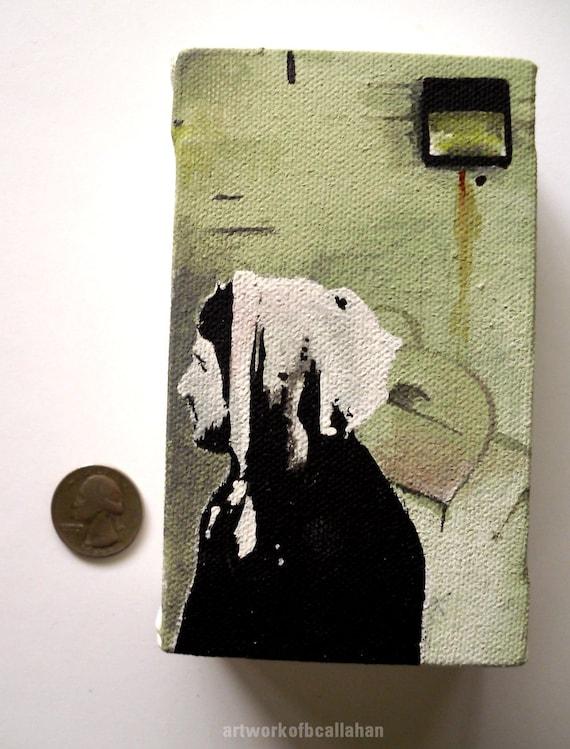 New Wineskins pt. 2 -  Mini Acrylic Painting - Original Artwork