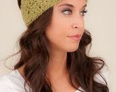 Headband Maria in Lime Green