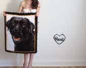 mans best friend rug . cujo latch hook mat .large .sale - DOTTO
