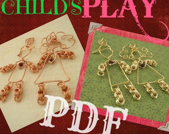 PDF Chainmail and Wirewrapping Tutorial - Childs Play - Intermediate
