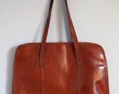Italian Leather briefcase/computer bag/satchel/portfolio firenze