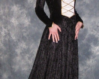 Nora, a  Medieval, Gothic, Pagan Renaissance Custom Made Gown