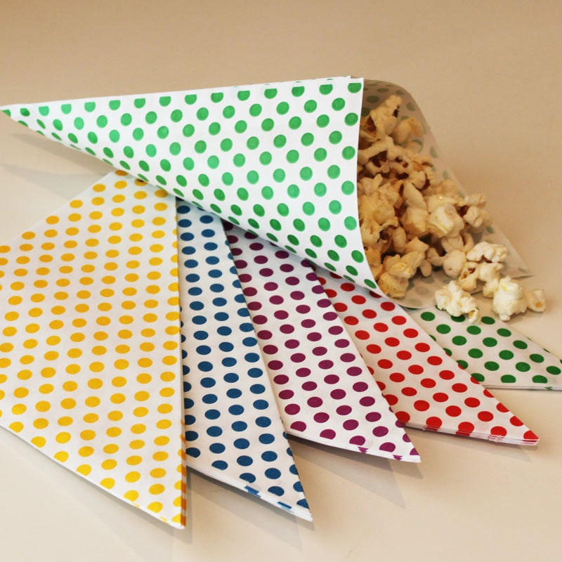 Plain Popcorn Bags Nut And Popcorn Bags-favor