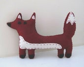 Roxie, the Red Fox Plush Toy