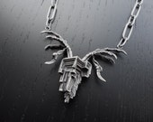 CLEARANCE Galactic Mutation Necklace OOAK