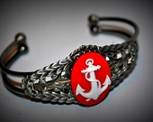 Anchors Up Cuff