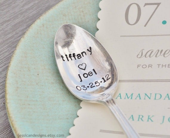 Lovers Spoon - Personalized with the names of your choice