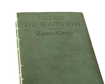 1926 TONTO RIM Vintage Notebook Journal