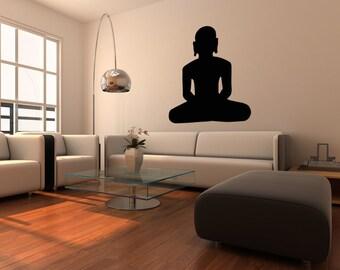 Vinyl Wall Decal Sticker India Meditation OSMB519m