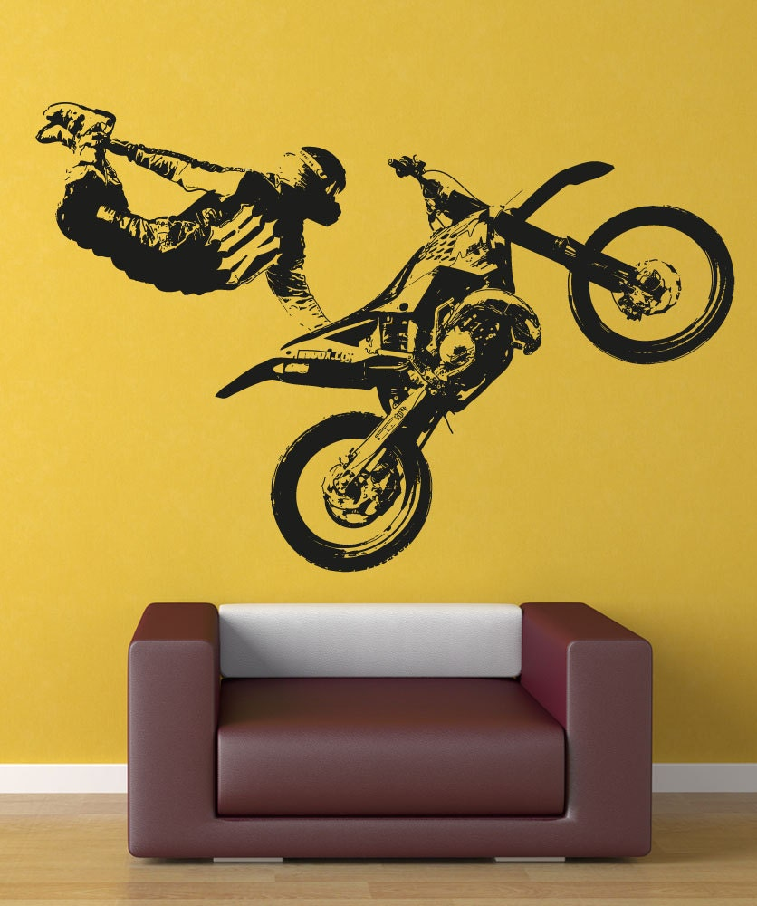 Motocross Decals For Walls - Elitflat