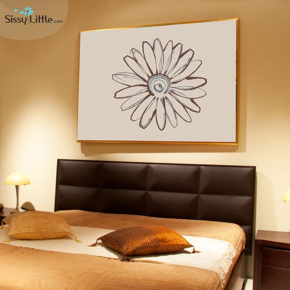 Sketch of a Daisy - Vinyl Wall Decal