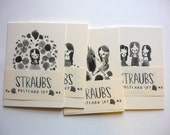 Straubs Set of Five Postcards