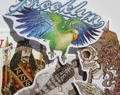 Sticker Pack - Pirates and Tyrants Color