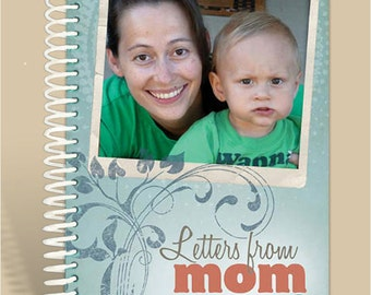 Mother's Journal Personalized with PHOTO and DEDICATION Page
