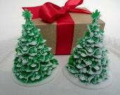 Christmas Tree Soap - stocking stuffer, christmas gift