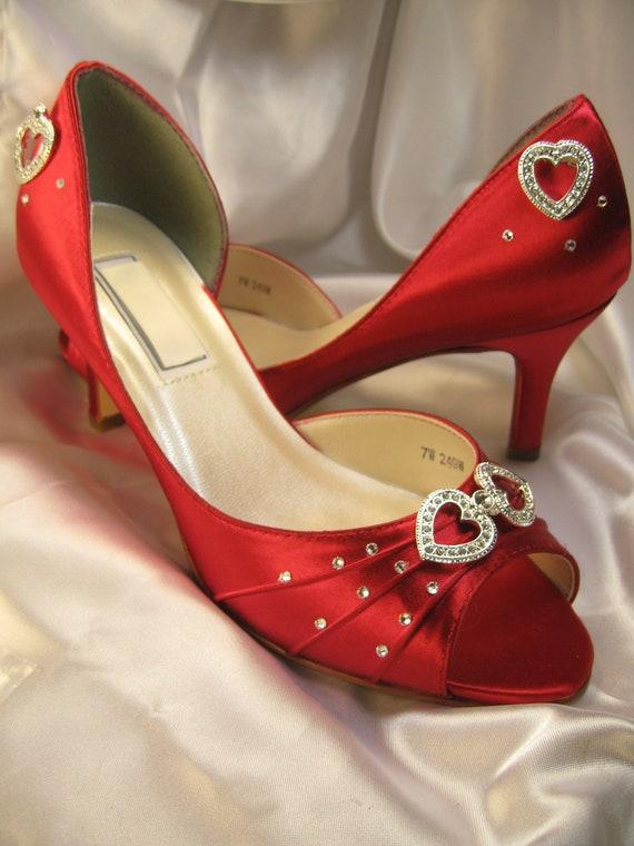 Single Heart Bride Shoe 30