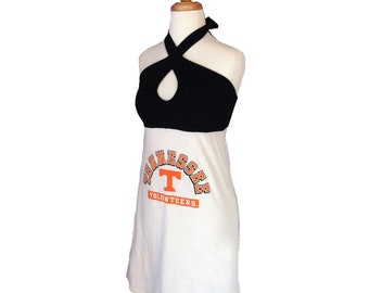 One of a Kind Gameday Dress made w/ Tennessee Tshirt - Small - On Sale and Free Shipping