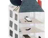 Starling House . Print