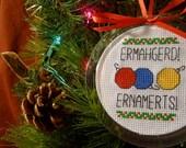 Ernamerts Ornament - Instant Pattern