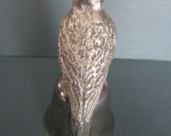 Silverplated Bell Audubon Cardinal - 1978 Reed and Barton