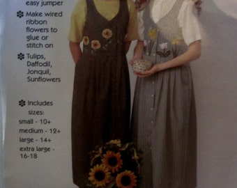 Gooseberry Hill 213 Women's 90s Jumper Sewing Pattern Bust 32 to 40