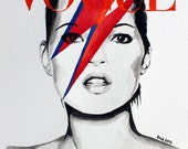 Vogue. Kate Moss. Print. Frame Ready. Choose Size