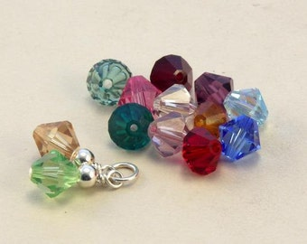 Add a personal touch ... Birthstone crystal .....