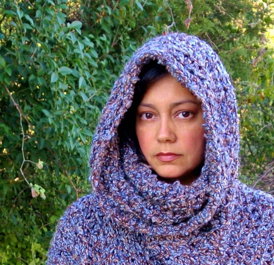 Easy Crochet Hooded Poncho Pattern ~ manet for .
