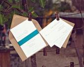 DIY Wedding Invitations - Elizabeth style - Customizable