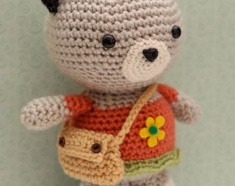 Amigurumi Crochet Pattern- Neko Cat