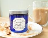 Cinnamon Vanilla Chai Sugar Scrub - Valentines Day Gift - body polish - 8 fl oz Jar - Exfoliating scrub