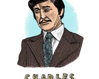 Charles Bronson Print