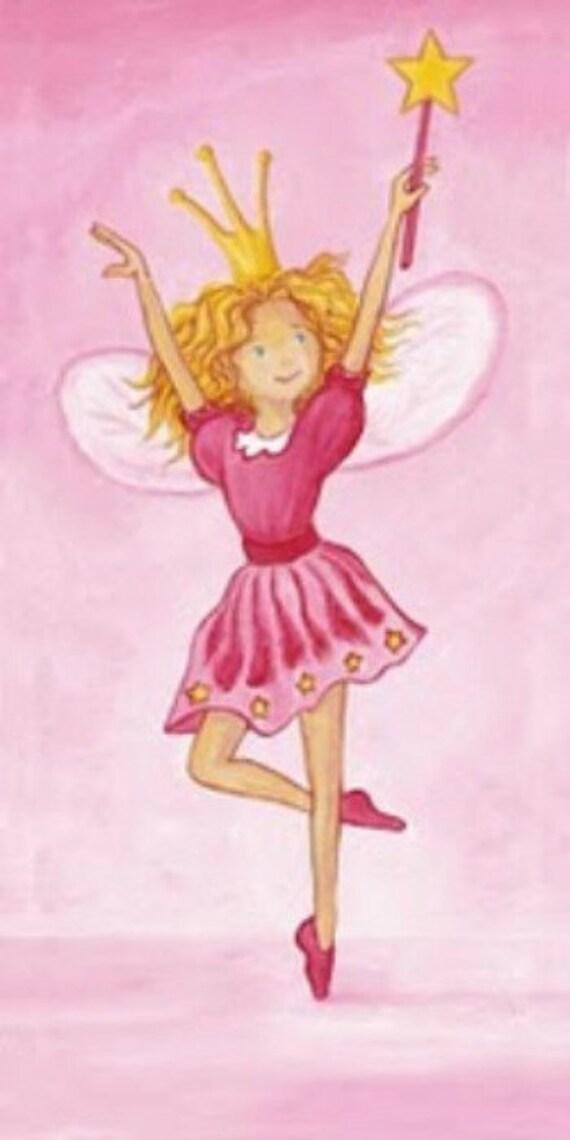 Pink Fairy - Cross stitch pattern pdf format