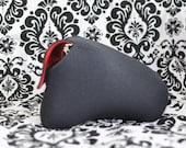 DSLR Camera Case - Black / Red Neoprene