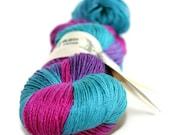 "Knitting Wool Merino Silk 4 ply Fingering  ""On My Merry Way"" - UK Seller - Lord of Silk"