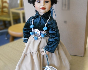 Porcelain Doll, Navajo Little One, Ray Swanson