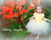 Crochet Tutu Dress Pattern: Lisa-Lynn Dress, Wedding, Flower Girl Dress, Girls party dress