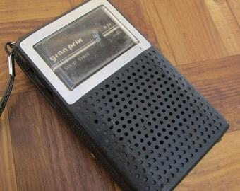 Radio - Transistor Radio - Pocket Radio - Vintage Transistor Radio - Gran Prix - 1960s