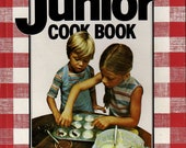 NEW JUNIOR COOKBOOK Better Homes and Gardens 1979 - Kid's Cooking  Easy   Basic Cook Skills